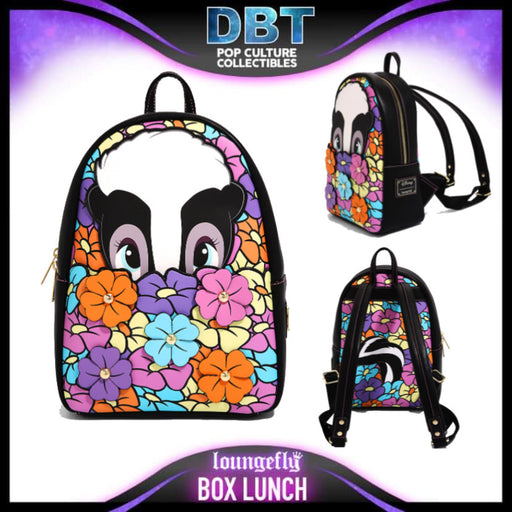Disney Loungefly: Bambi - Flower Mini Backpack - BoxLunch Exclusive