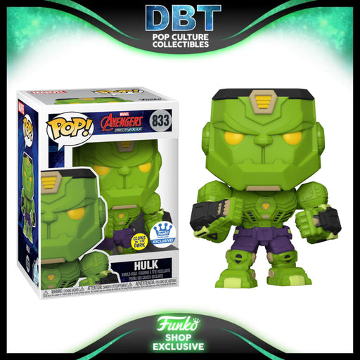 Marvel: Avengers Mecha Strike GITD Hulk Funko-Shop Exclusive Funko Pop