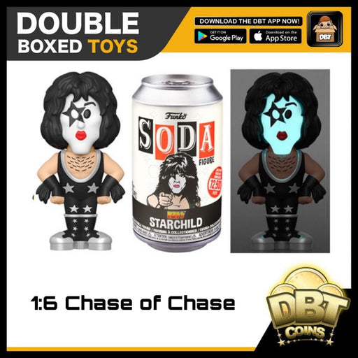 Vinyl Soda: KISS Starchild LE12500 (with Chance of Chase)