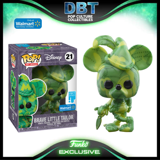 Disney Art Series: Brave Little Tailor Mickey Mouse Walmart Exclusive Funko Pop