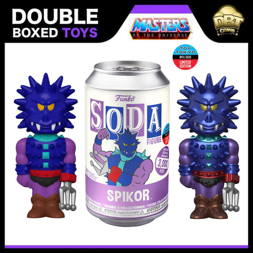 Masters of the Universe: Spikor NYCC 2020 Toy Tokyo Exclusive LE3000 Vinyl Soda (with chance of chase)