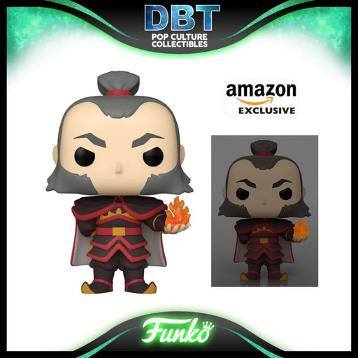 Avatar: Admiral Zhao with GITD Fireball Amazon Exclusive Funko Pop