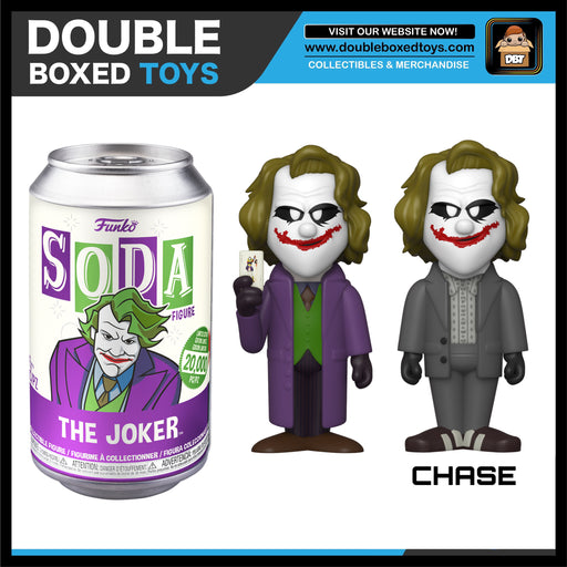 Vinyl Soda: DC Comics - Heath Ledger Joker LE20000 (with Chance of Chase)