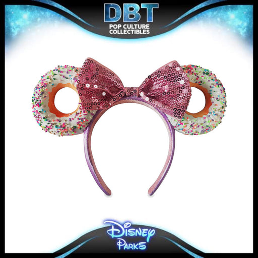 Minnie Mouse Donut Ear Headband for Adults -Disney Parks