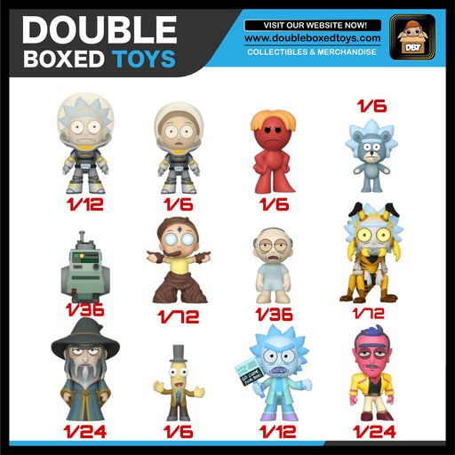 Rick & Morty Series 4 Mystery Minis (Case Size 12)