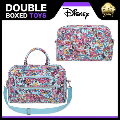 Mickey Mouse and Friends Colorful Garden Iconic Weekender Travel Bag by Vera Bradley