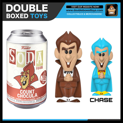Vinyl Soda: Ad Icons - Count Chocula (with Chance of Chase) LE7500