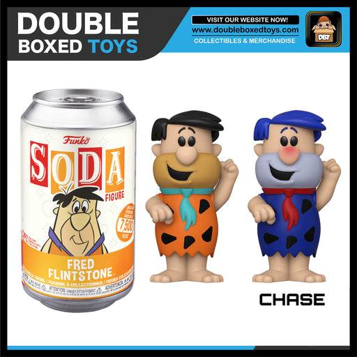 Vinyl Soda: The Flintstones - Fred Flintstone (London Toy Fair 2020) (with Chance of Chase)