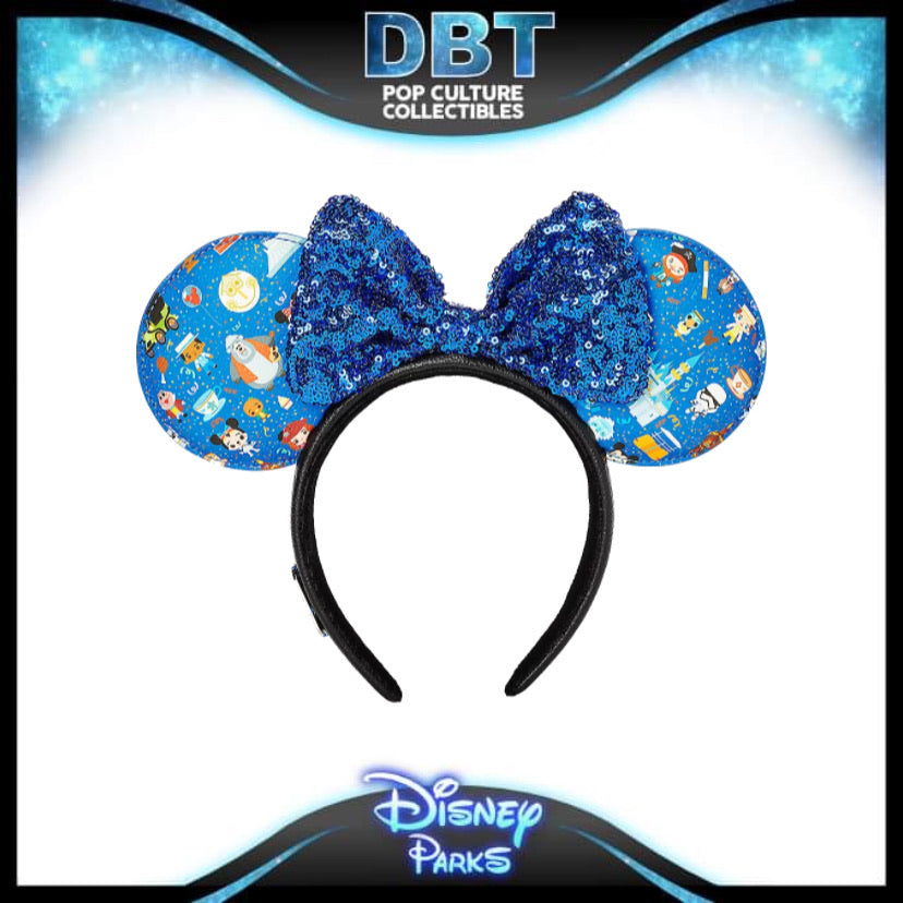 Disney Parks Minnie Mouse Ear Headband by Loungefly