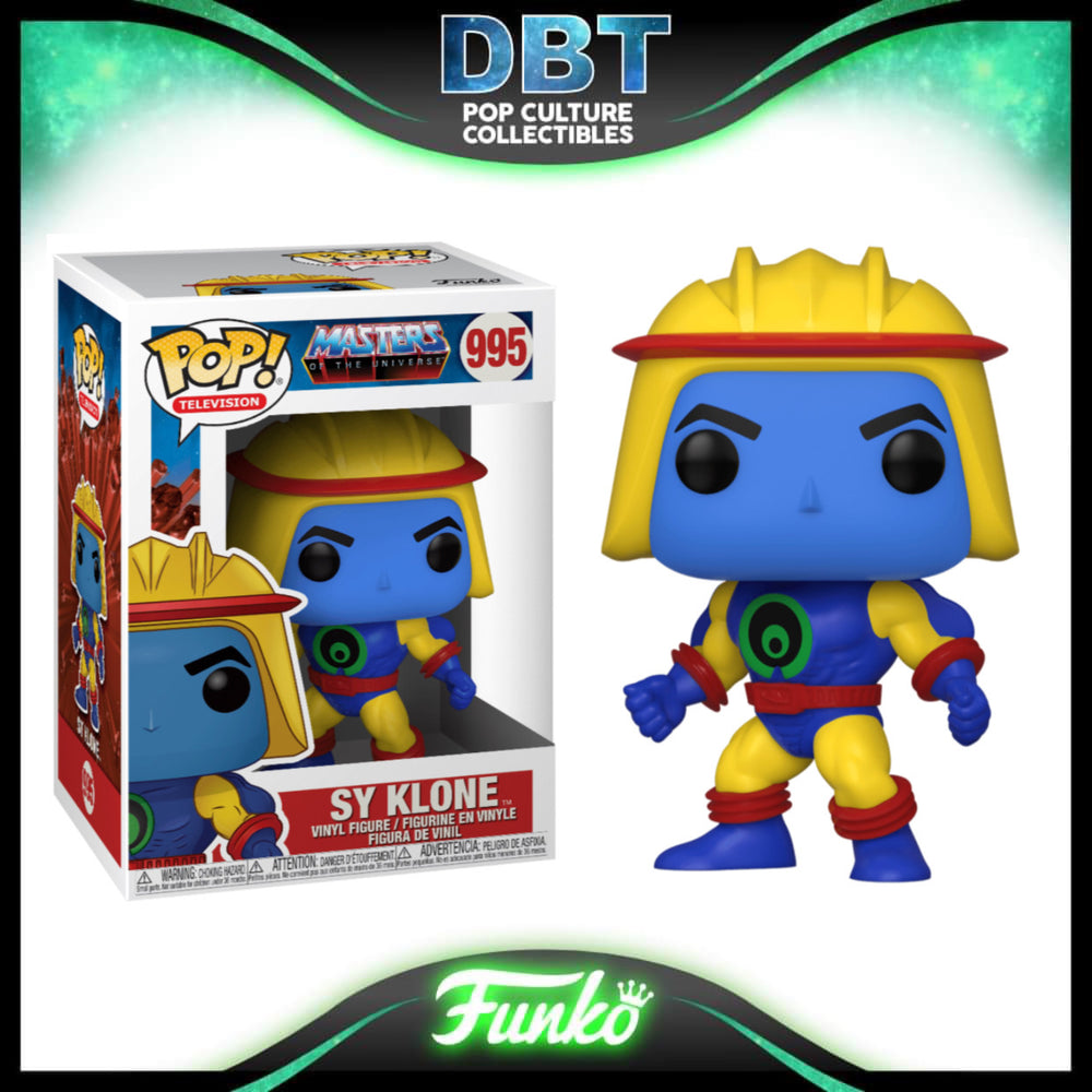 Masters of the Universe: Sy Klone Funko Pop