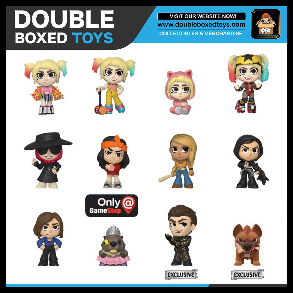 Birds Of Prey Mystery Minis Case Size 12 Double Boxed Toys