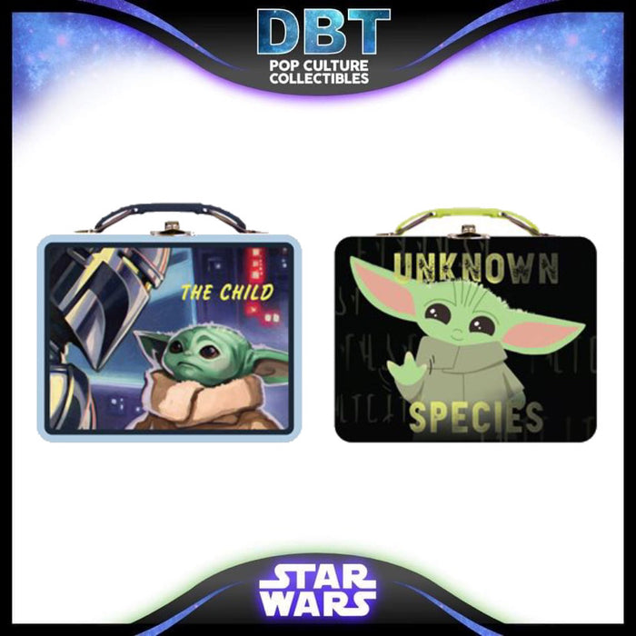Star Wars: The Mandalorian The Child Tin Lunch Box Case