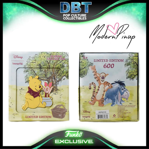 Disney Loungefly - Winnie The Pooh Collector Box Enamel Pin LE600 - Modern Pinup Exclusive