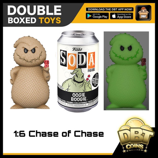 Vinyl Soda: The Nightmare Before Christmas Oogie Boogie LE20000 (with Chance of Chase)