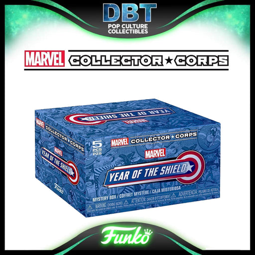 Marvel Collectors Corp: Year of the Shield Amazon Exclusive Collectors Box
