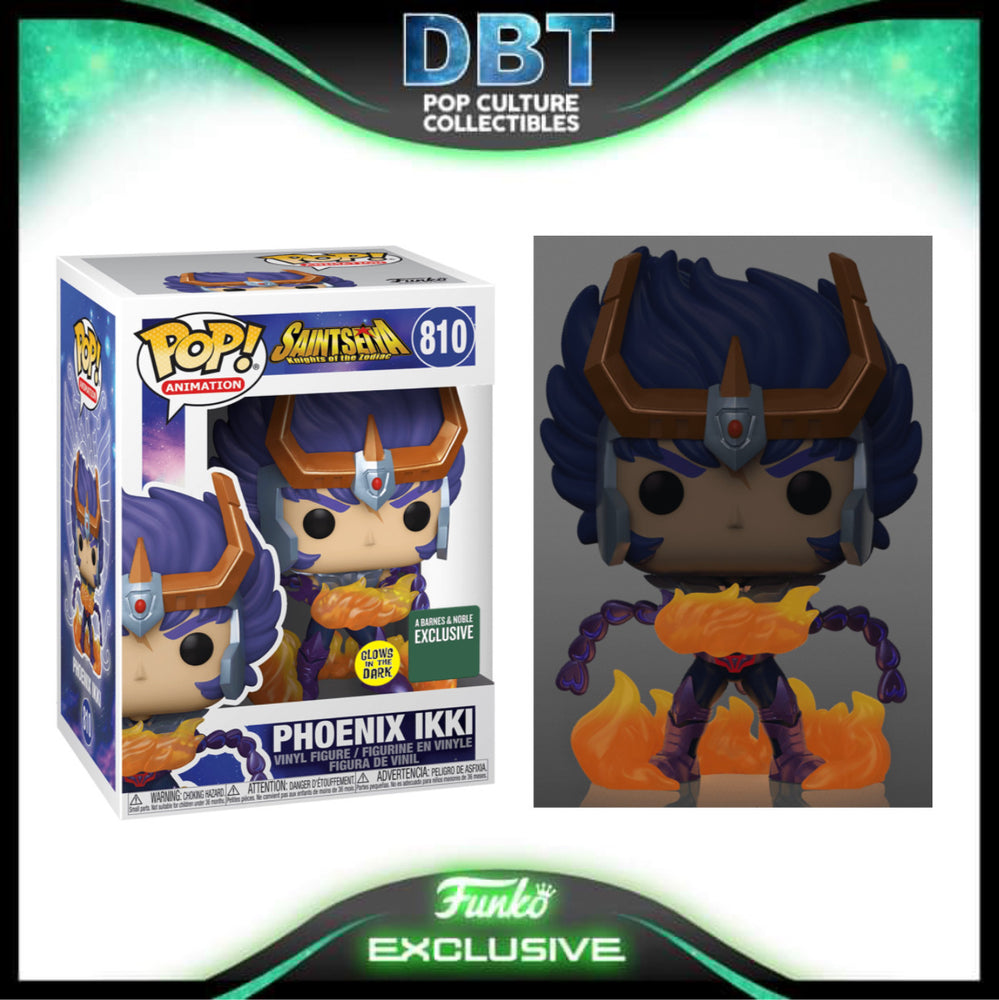 Saint Seiya Knights of the Zodiac: GITD Phoenix Ikki B&N Exclusive Funko Pop