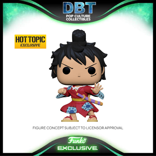 One Piece: Luffy Gear (Metallic) Hot Topic Exclusive Funko Pop