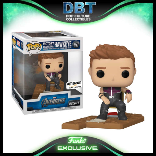 Marvel Avengers Victory Shawarma Series: Hawkeye Amazon Exclusive Deluxe Funko Pop (3 of 6)