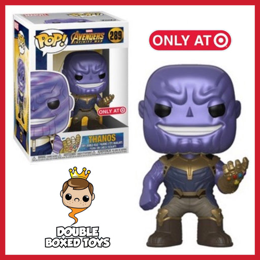 Target Metallic Thanos Exclusive