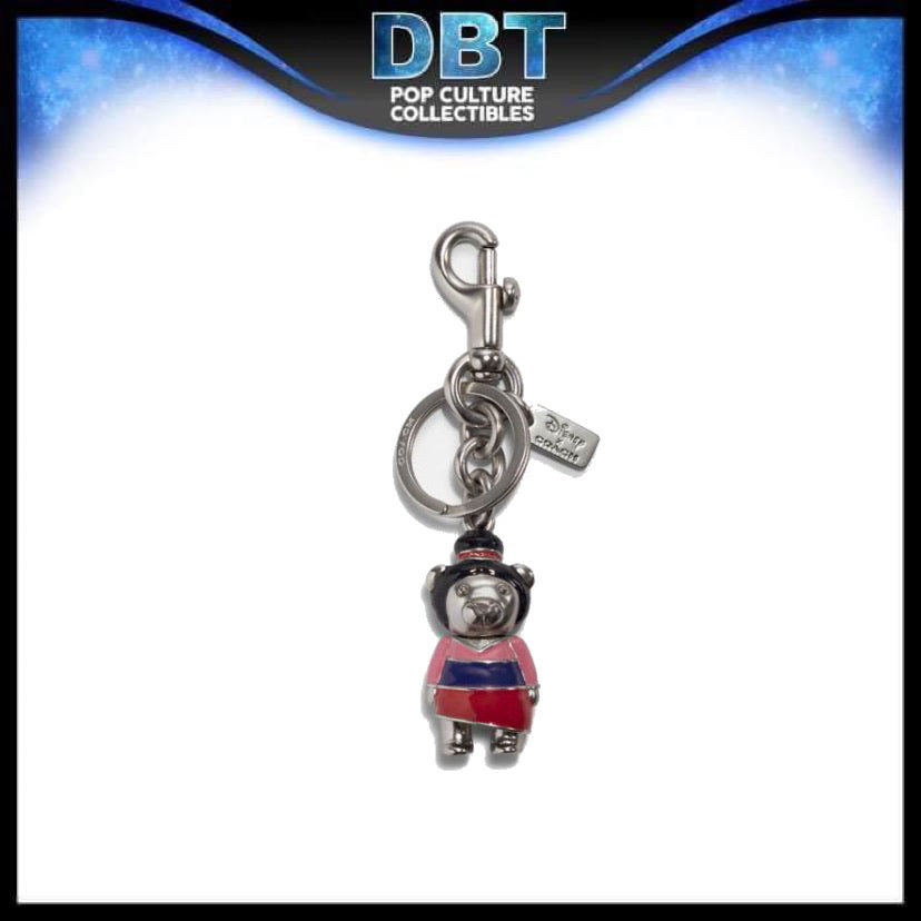 Disney X Coach Mulan Bear Bag Charm