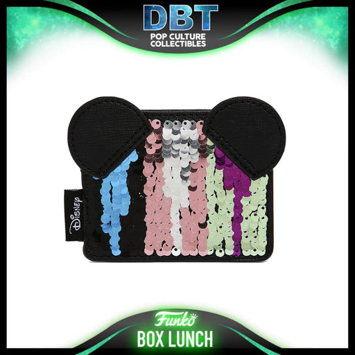 Disney Loungefly: Minnie Mouse Sequin Cardholder - BoxLunch Exclusive