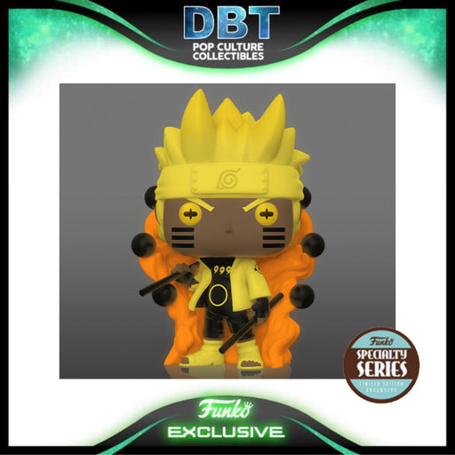 Naruto Shippuden: Naruto GITD Six Path Sage Speciality Series Exclusive Funko Pop