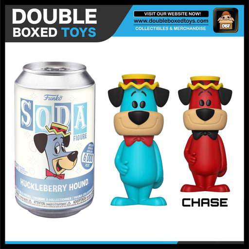 Vinyl Soda: Hanna Barbera - Huckleberry Hound (London Toy Fair 2020) (with Chance of Chase)