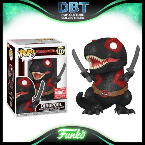 Marvel Deadpool: Dinopool MCC Exclusive Funko Pop