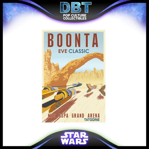 Star Wars Boonta Eve Classic by Steve Thomas Paper Giclee Art Print