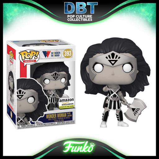 DC Comics Wonder Woman: 80th Anniversary GITD Black Lantern Wonder Woman Amazon Exclusive Funko Pop