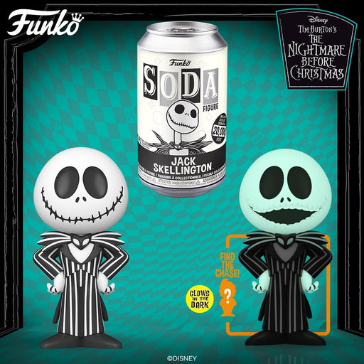 Vinyl Soda: The Nightmare Before Christmas - Jack Skellington LE20000 (with Chance of Chase)