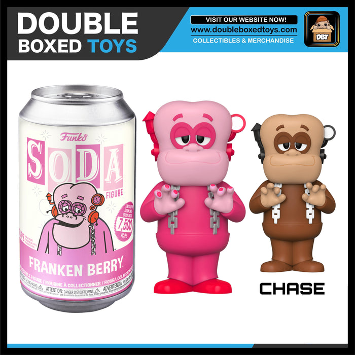 Vinyl Soda: Ad Icons - Frankenberry (with Chance of Chase) LE7500