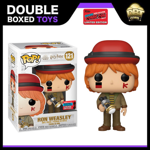 Harry Potter: Ron Weasley (World Cup) NYCC 2020 Exclusive Funko Pop
