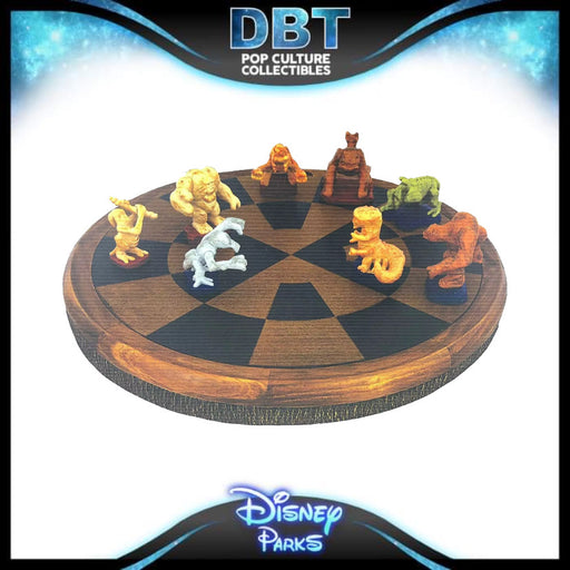 Galaxy's Edge Dejarik Board Game With 8 Figures & Checkers