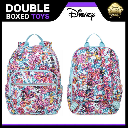 Mickey Mouse and Friends Colorful Garden Iconic Campus Backpack by Vera Bradley
