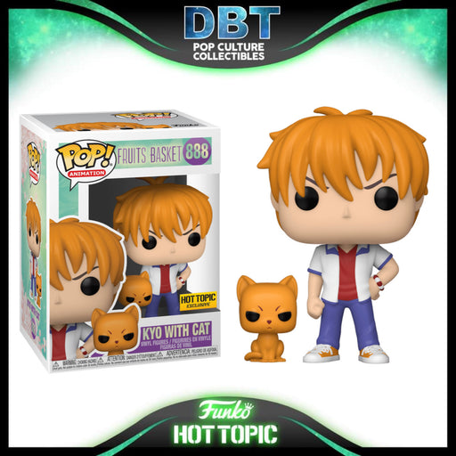 Fruits Basket: Kyo with Cat Hot Topic Exclusive Funko Pop