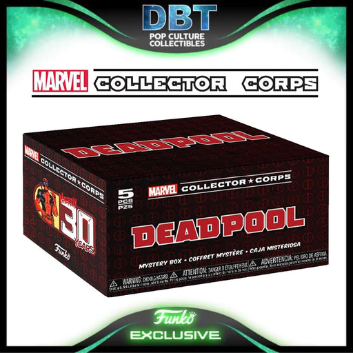 Marvel Collectors Corp: Deadpool 30 Years Amazon Exclusive Collectors Box