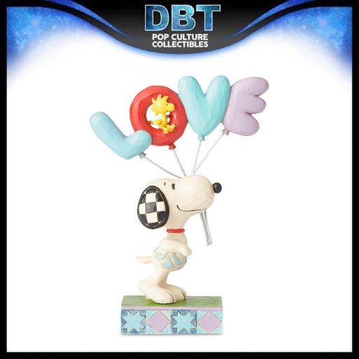 "Jim Shore Peanuts: Snoopy Love Balloons 7.5"" Figurine"
