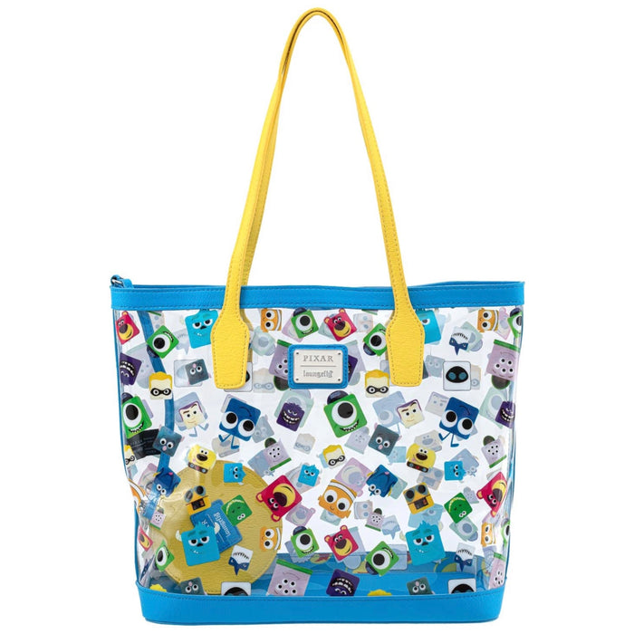 Disney Pixar Loungefly - Pixar Character Clear Tote Bag - Amazon Exclusive