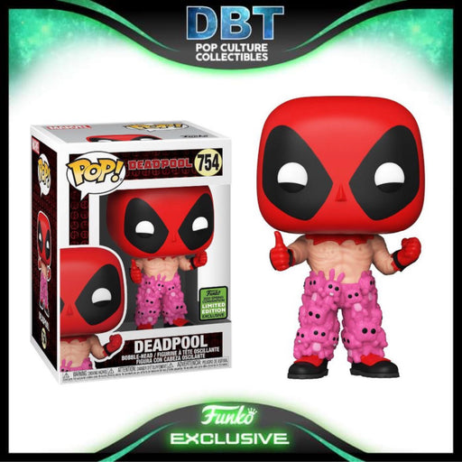 Marvel Deadpool: Deadpool with Teddy Bear Pants ECCC 2021 Exclusive Funko Pop