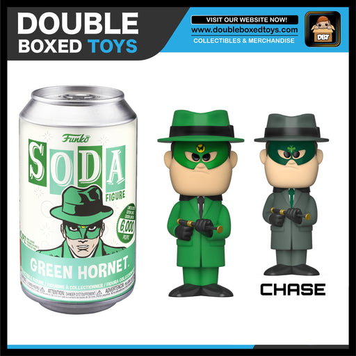 Vinyl Soda: The Green Hornet - Green Hornet (London Toy Fair 2020) (with Chance of Chase)