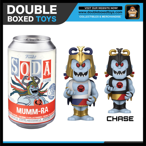 Vinyl Soda: Thundercats - Mumm-Ra (London Toy Fair 2020) (with Chance of Chase)