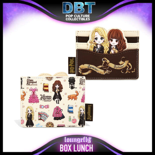 Harry Potter Loungefly: Luna & Hermione Cardholder - BoxLunch Exclusive