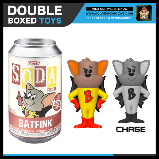 Vinyl Soda: Bat Fink - Bat Fink (London Toy Fair 2020) (with Chance of Chase)