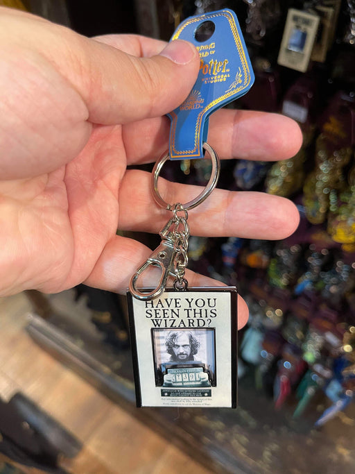 Universal Studios Harry Potter Have You Seen This Wizard Sirius Black Keychain