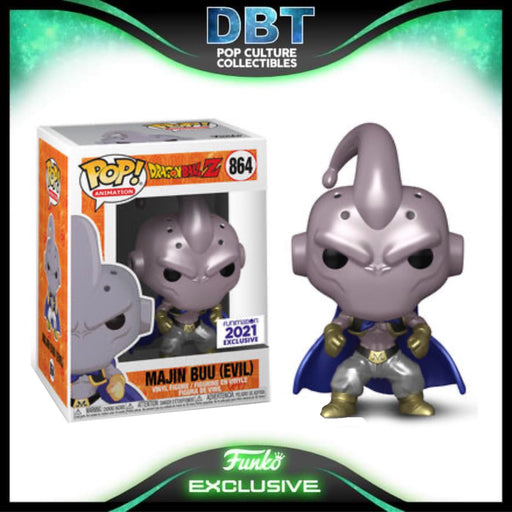 Dragon Ball Z: Metallic Majin Buu (Evil) Funimation Exclusive Funko Pop