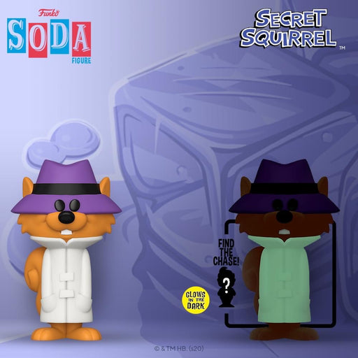 Vinyl Soda: Hanna Barbara Secret Squirrel LE8000 (with Chance of Chase)
