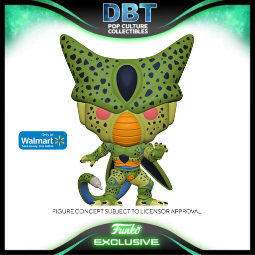 Dragon Ball: Cell (First Form) GITD Walmart Exclusive Funko Pop