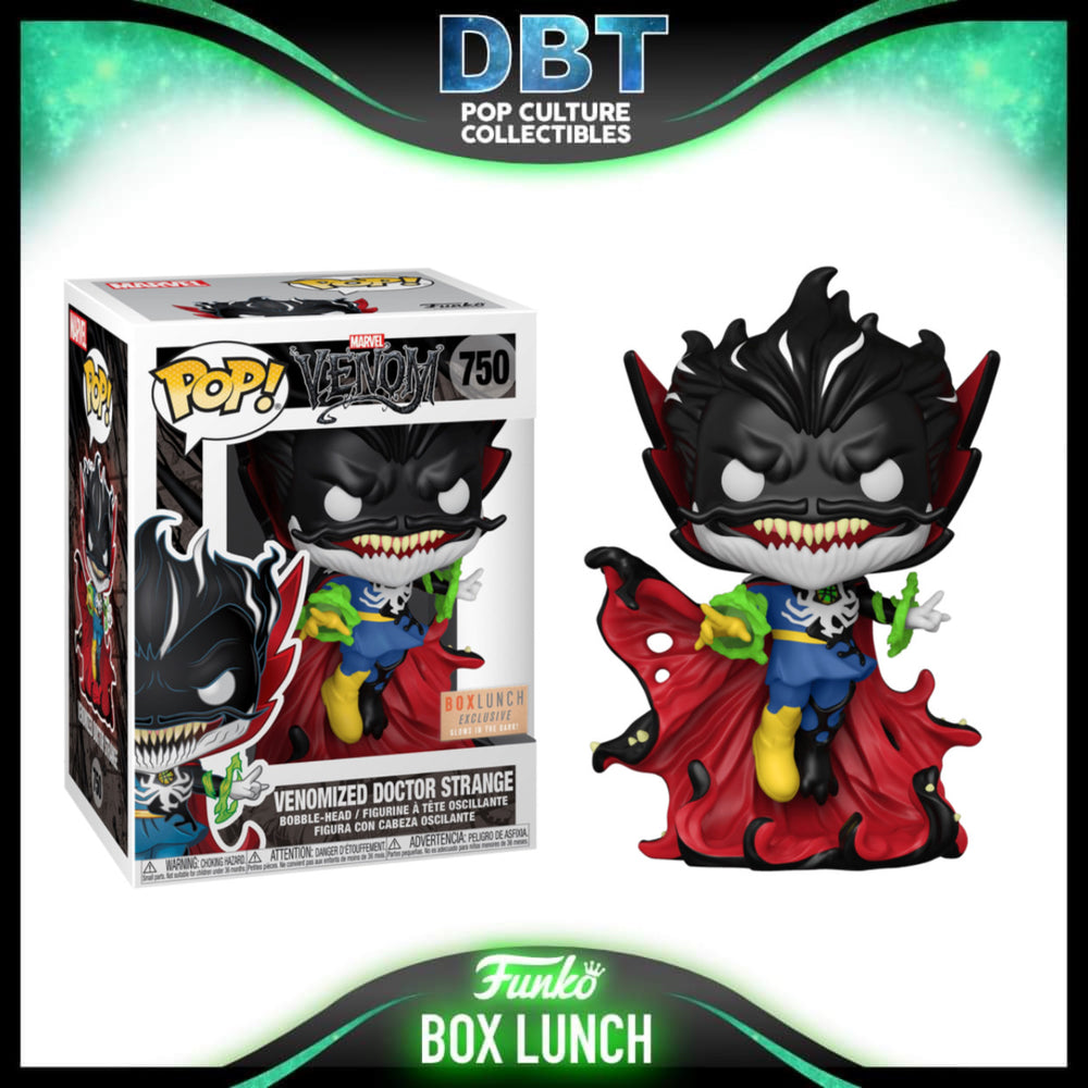 Marvel Venom: GITD Venomized Doctor Strange Box Lunch Exclusive Funko Pop