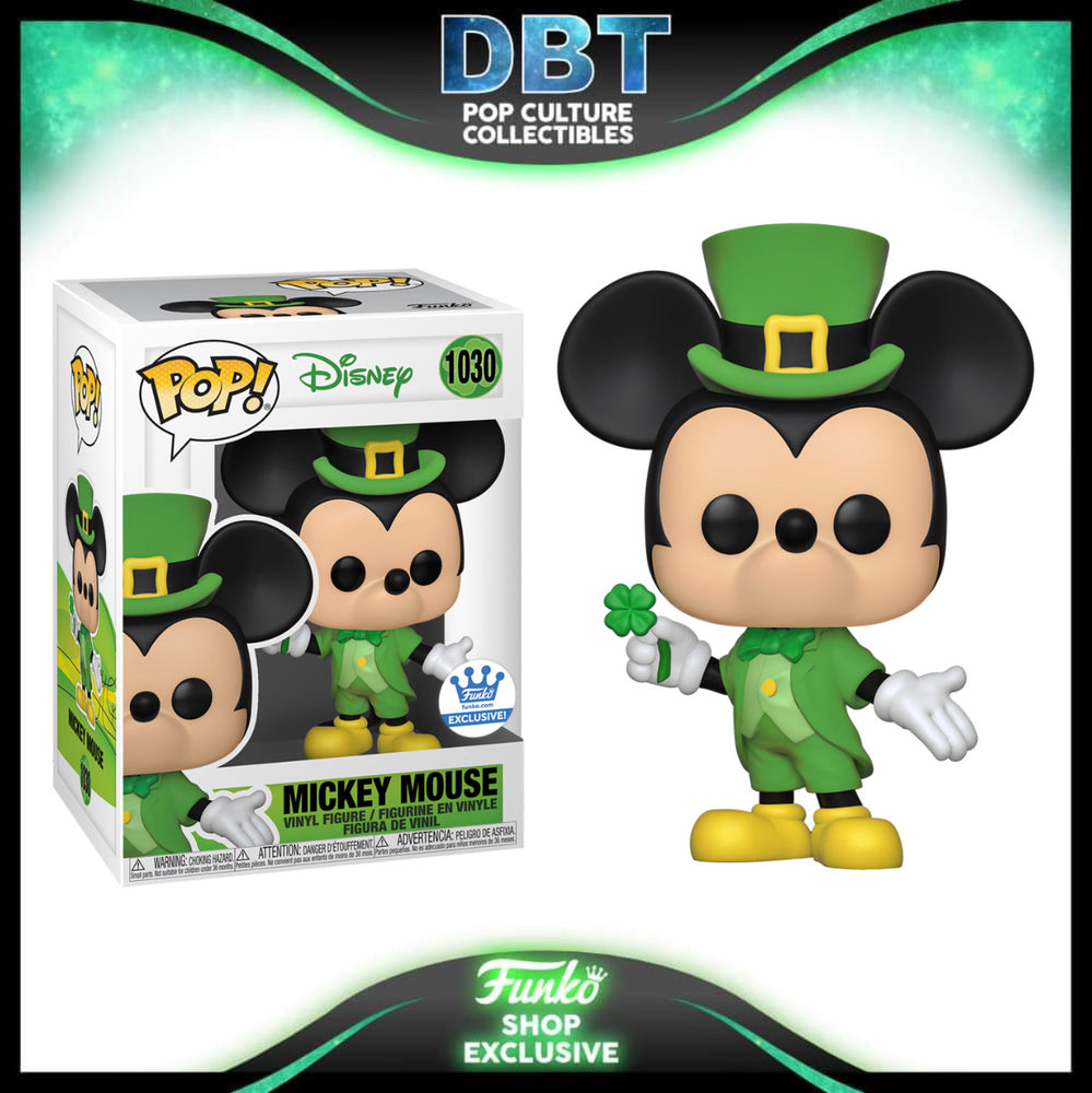 Disney: Mickey Mouse (Saint Patrick's Day) Funko-Shop Exclusive Funko Pop